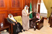 نائب أمير منطقة حائل استقبل رئيس المجلس البلدي وأعضاء المجلس