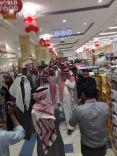 """تدشين المعرض العالمي للمأكولات في """"لولو هايبر ماركت"""" بمدينة حائل"""
