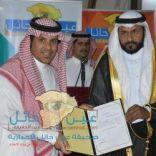 """الأستاذ خالد الهواوي يهدي إدارة """" صحيفة عين حائل الإخبارية """" أرض 3000 م شمال حائل"""