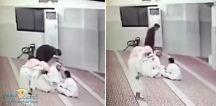 بالفيديو .. لحظة وفاة مُصَلٍّ داخل مسجد