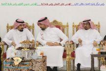 بمناسبة تعيينه رئيسا لبلدية لينة أبناء صالح الضبعان يحتفلون بالمهندس عثمان الضبعان