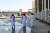 العجيمي يتفقد المصليات لصلاة عيد الاضحى المبارك بحائل