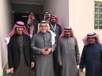 منسوبوا إدارة مطار حائل الدولي يحتفلون بالاستاذ / خالد بن يحيى السيف مدير عام المطارات الشمالية