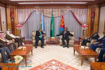 برعاية خادم الحرمين.. لقاء تاريخي بين رئيسَي جيبوتي وإريتريا بجدة