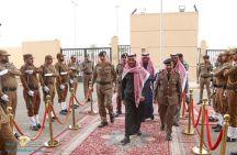 نائب أمير منطقة حائل يتفقد مبنى شرطة منطقة حائل