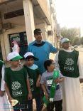 طلاب التربية الخاصة بمدرسة الملك عبد العزيز يشاركون بيوم الوطن