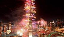 دبي تبهر العالم.. وتتفوق على الدول الاجنبية بالاحتفال بـ2019