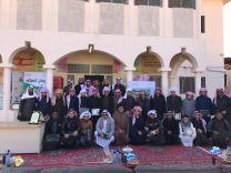 بالصور … بحضور مشرفي مكتب الشمال ثانوية الامير سلطان بحائل  تحتفل بذكرى البيعة