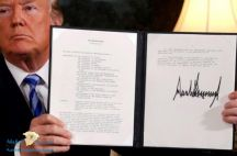"""""""ترامب"""" يتوعد الشركات المتعاملة مع إيران.. و""""روحاني"""": انزع السكين"""