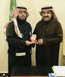 وسام التميز للتطوع للاستاذ سلطان البراهيم مدير العلاقات العامة والاعلام بهلال أحمر حائل