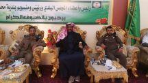 استقبال مدير إدارة الدفاع المدني بمحافظة سميراء
