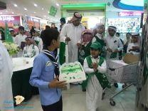 فعاليات وطنية متنوعة بمدرسة الملك عبد العزيز بسكاكا