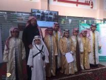 كرنفال ابتدائية الشهداء ( يوم مفتوح ) و( تجديد بيعة سيدي خادم الحرمين ) و( معرض اللغة العربية )
