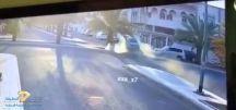 بالفيديو.. حادث مروع في حي الأزهري بالمدينة المنورة