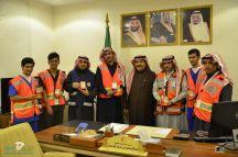 اختتم فرع هيئة الهلال الأحمر السعودي بمنطقة حائل مبادراته مع نهاية فعاليات الإحتفال باليوم العالمي للتطوع 2018م