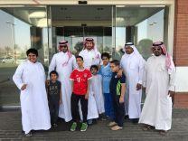 برنامج التربية الخاصة في إبتدائية أبن تيمية يزور المستشفى السعودي الألماني بحائل