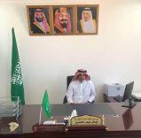 طلال عوض الغيثي مديراً لمكتب الخدمات البلدية في قريه الشقيق