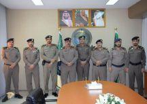 مدير الدفاع المدني بحائل يقلد عدد من الضباط رتبهم الجديده