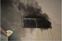 مدني حائل يخمد حريق بشقه بحي النقرة