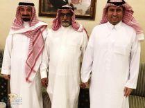 يقدم التعازي للأمير جلوي بحضور الأمير سلطان بوفاة والدته رحهما الله