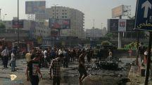 9 إصابات إثر انفجار سيارة جنوب القاهرة.
