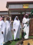 بالصور … افتتاح نافورة الحفير رسميا