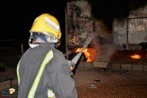 عدم معرفة الطبخ بــ (قدر كاتم ) يتسبب بحريق بسكن مؤقت للعمال شرق حائل