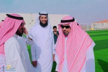 نادي سميراء الرياضي يستقبل مساعد مدير مكتب الهيئة العامة للرياضة