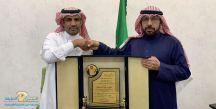 """مشرف شركة سيركو """" الحنيني """" يشكر مدير مكتب الاحوال المدنية بحائل"""