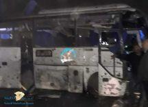 مصر: استهداف حافلة ركاب سياحية بعبوة ناسفة وسقوط قتلى وجرحى