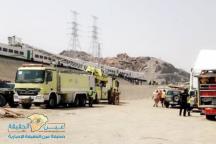 إمارة مكة تنفي انحراف قطار الحرمين عن مساره