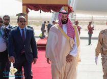 بالصور.. ولي العهد يصل إلى موريتانيا في زيارة رسمية