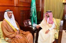 نائب أمير منطقة حائل التقى رئيس فرع النيابة العامة