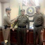 """ترقية """"سعود بن عبدالله الحماد """" إلى رتبة رقيب"""