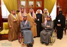 """نائب أمير حائل يستقبل المدير التنفيذي لفرع جمعية """"جستر"""" بالمنطقة"""