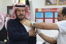 مركز صحي الودي يطلق حملة تطعيم ضد الأنفلونزا الموسمية ويزور مدرسة ومركز الودي ومدرسة القياده