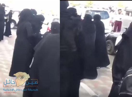 بالفيديو.. حارسات الأمن يسقطن طعام مسنة أمام الجامعة ...