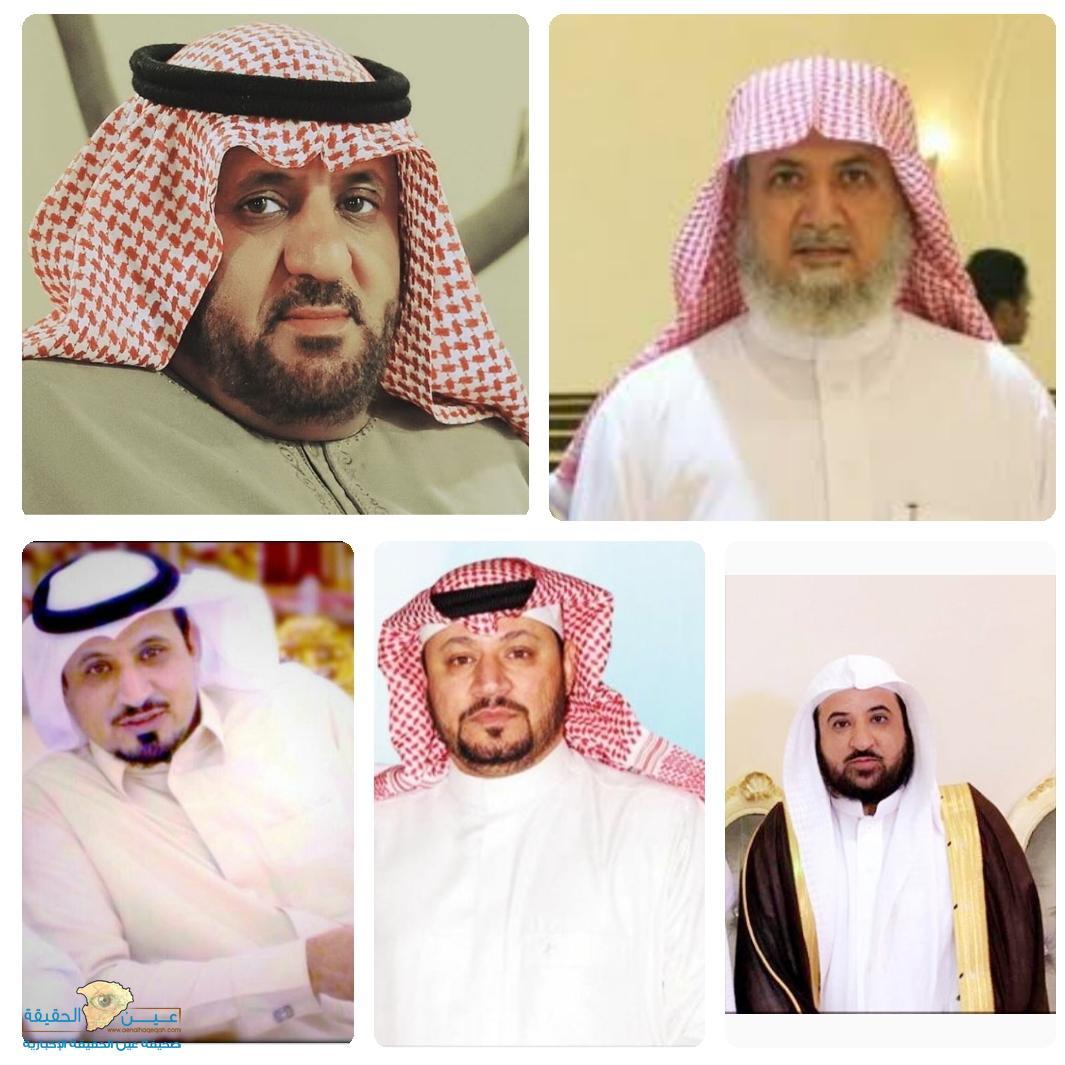 أبناء صالح الضبعان رحمه الله يهنئون أخيهم المهندس عثمان صحيفة عين الحقيقة الاخبارية