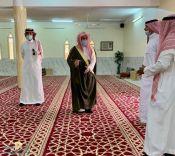 مدير الشؤون الإسلامية بحائل يفتتح إدارة المساجد والدعوة والإرشاد بمحافظة السليمي وجامع السليمي الأول .