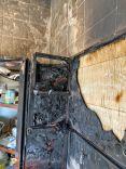 مدني #حائل يخرج أفراد الأسرة ويخمد حريق شب بشقة باللقيطة شمال #حايل