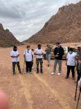 مجلس شباب حائل ينفذ بالتعاون مع هايكنج حائل فعالية صعود جبل ثرمد