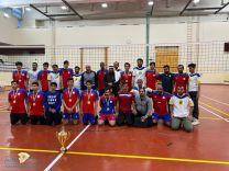 فريق فيد بطلاً لمنطقة حائل في الكرة الطائرة (درجة ثانية ) بعد الفوز على نادي اللواء٣❌صفر