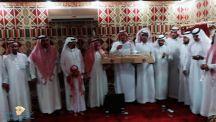 ابناء عنزة ومرابط وفرسان القبيلة يتشرفون بزيارة الشاب الامين محمد عيد الجبر الجعفري العنزي وتكريمه