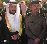 مدير قسم السير بمرور منطقة حائل المقدم . عبدالله بن يحي العازمي يحتفل بتخرج نجلة ( تركي ) من جامعة حائل