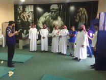 نادي الحي بمكرز الملك عبدالعزيز الكشفي يستضيف ابطال حائل للشباب في كرة القدم نادي جبة