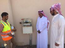 ضح مياه المشروع الشامل لمحافظة الشنان بمنطقة حائل وخدمة مايقارب 14,700 مستفيد