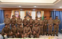 مدير شرطة حائل يقلد عدد من الضباط رتبهم الجديده