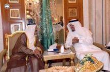 سمو ولي العهد يستقبل سمو أمير دولة الكويت ويقيم مأدبة غداء تكريماً له