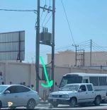 شركة الكهرباء بحائل تداركوا الموضوع قبل وقع الكارثة لطلاب مدرسة عبدالله بن مسعود