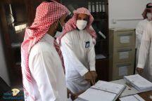 قام السائح ،،، بجولة تفقدية لإدارة المساجد بمحافظة سميرا